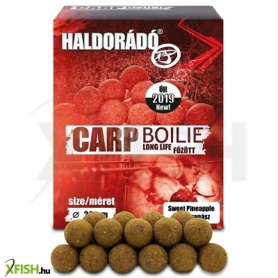 Haldorádó Carp Bojli Long Life - Sweet Pineapple 800 G / 24 Mm