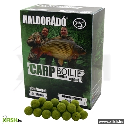 Haldorádó Carp Bojli Soluble Oldódó - Green Pepper 800 G / 20 Mm