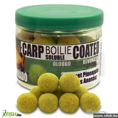 Haldorádó Carp Boilie Soluble coated oldódó bojli - Sweet Pineapple 70 g / 18 mm