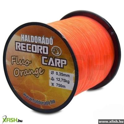 Haldorádó Record Carp Fluo Orange 0,30 Mm / 800 M - 9,9 Kg