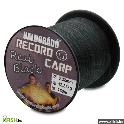 Haldorádó Record Carp Real Black 0,24 Mm / 900 M - 7,65 Kg