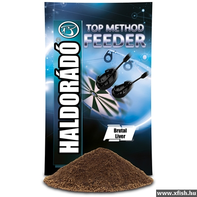 Haldorádó Top Method Feeder - Brutal Liver 800G