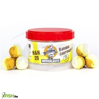 Imperial Baits POWER TOWER - Pop Up Half`n Half Banana 75g 20mm balanszírozott lebegő bojli