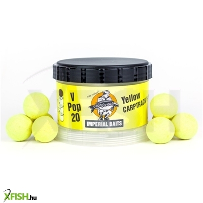 Imperial Baits Power Tower - V-Pop Yellow 16Mm 60 G Ízetlen Lebegő Bojli