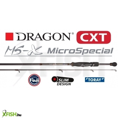 Dragon Cxt Microspecial Ms-X Spinning Pergető Bot 1.98M 0.5-6G Ms-Ul New 2019