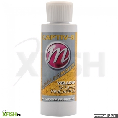 Mainline Csali Ízesítő Flavour Colourant -Yellow - Scopex Pineapple Sárga Rák Ananász - 100Ml