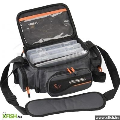 -599 Ft Savage Gear System Box Pergető Táska S 3 Dobozzal És Tasakokkal  (15X36X23Cm) 9b5e99a1ab