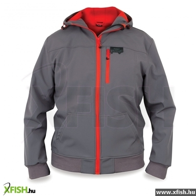 FOX Rage Softshell Grey   Red M kabát 8bdf0ef2bc