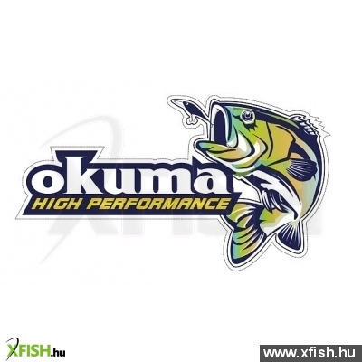 Okuma High Performance sticker (27x16.5cm)