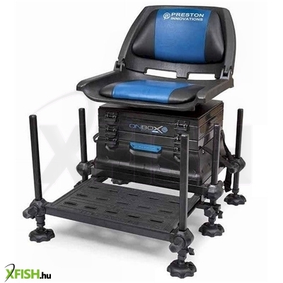 Preston ONBOX SERIES FIVE - BACKREST 2D SEAT BOX VERSENYLÁDA
