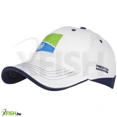 Preston White Cap (P0200075) Fehér baseball Sapka 300ac5dd45
