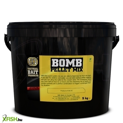 Sbs Bomb Pellet Mix Bio Big Fish 5 Kg