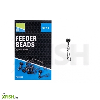 Preston Feeder Beads Feeder Kapocs - Medium