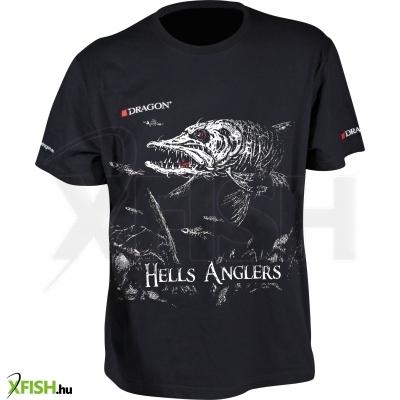 Dragon Hells Anglers Póló Csuka Méret  M 972ed51cd1