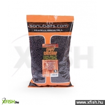 Sonubaits Spicy Sausage Halibut Pellet 8Mm 900G