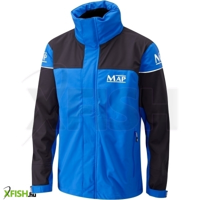 Map 3/4 Length Jacket Blue And Black (T4085-) vízálló horgászkabát M