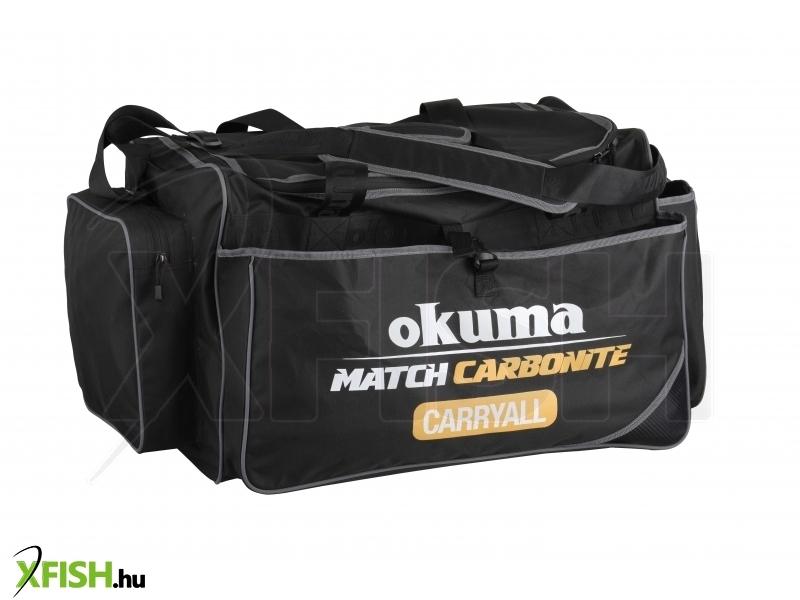 Okuma Match Carbonite Carryall (60X36X39Cm) Szerelékes Táska 204f190854