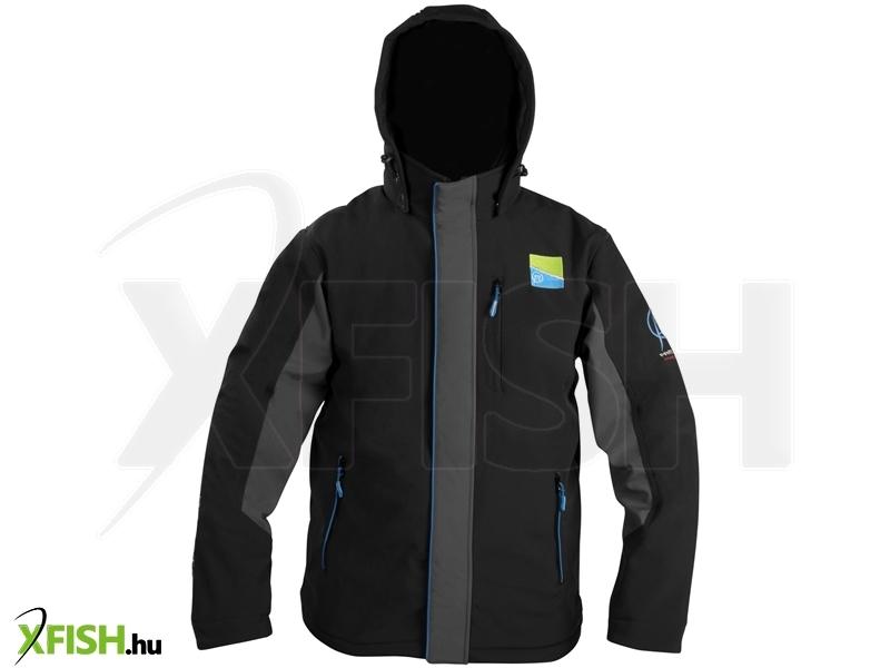 Preston Soft Shell Hooded Fleece Kabát L (P0200016) e150a65b3d