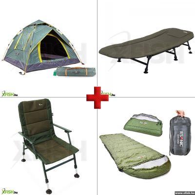 df76e0de3cf2 -13 274 Ft Xfish Top Sale sátor, ágy, szék , hálózsák szett